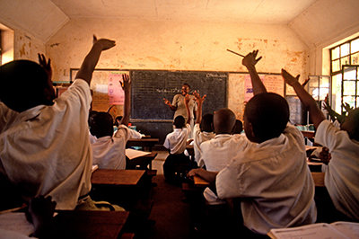 Classroom © Arne Hoel / World Bank